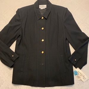 Women's Black Blazer- NEW